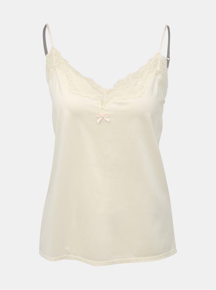 Krémová košilka s krajkou Maidenform