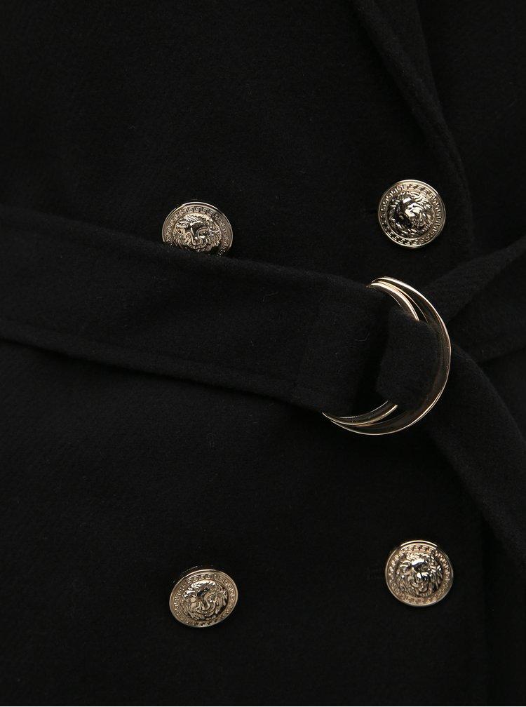 Čierny kabát TALLY WEiJL Fliam
