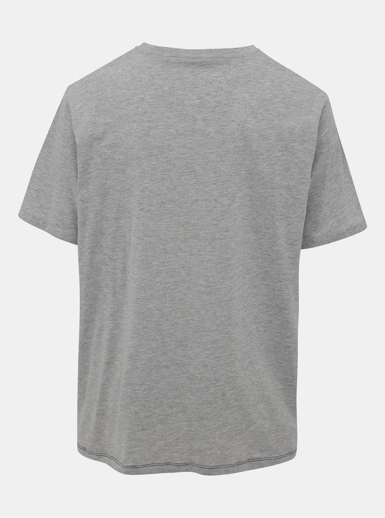 Čierno-šedé tričko Jack & Jones Miller