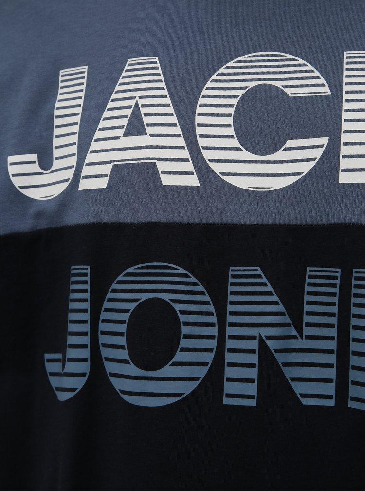 Modré tričko Jack & Jones Miller