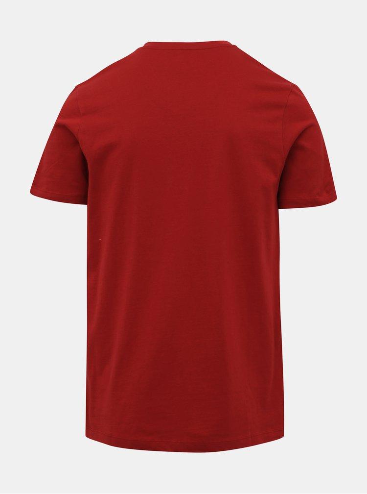 Červené tričko Jack & Jones Booster