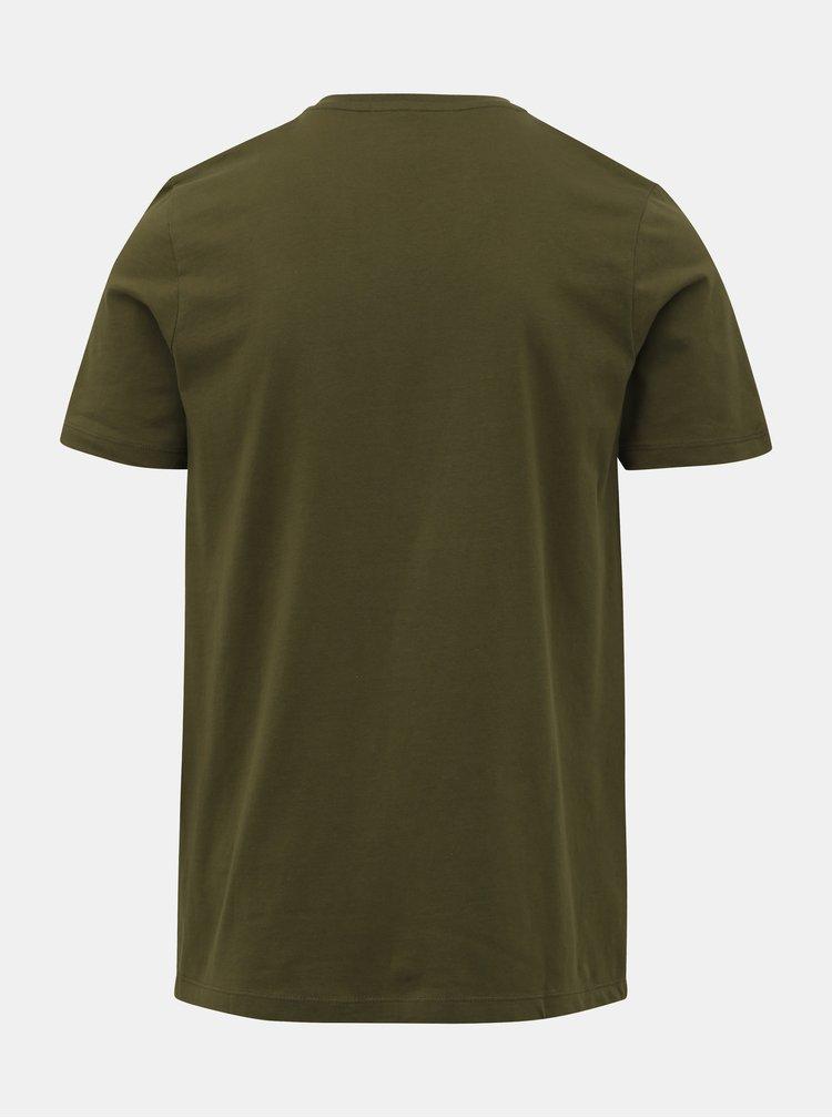 Zelené tričko Jack & Jones Booster