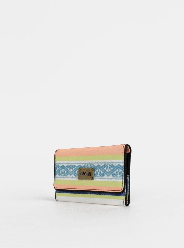 Oranžová dámska vzorovaná peňaženka Rip Curl Sun Gypsy