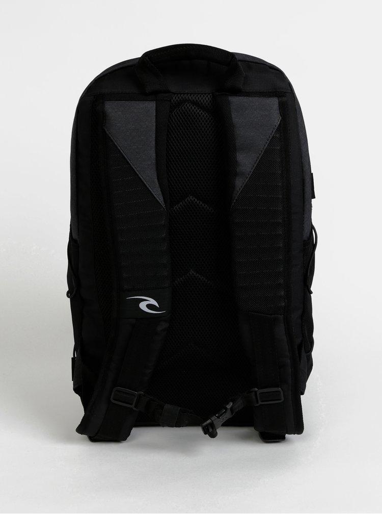 Černo-šedý batoh Rip Curl Ultra 30 l