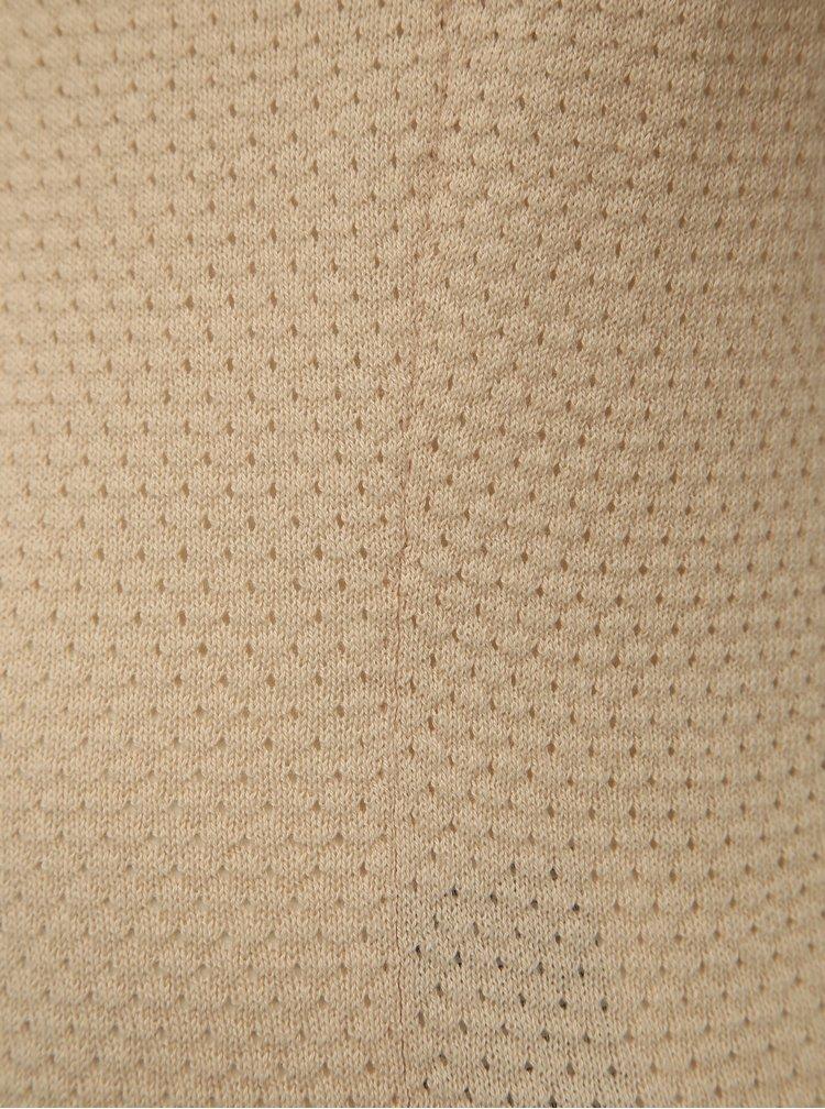 Béžový svetr VERO MODA Minnie