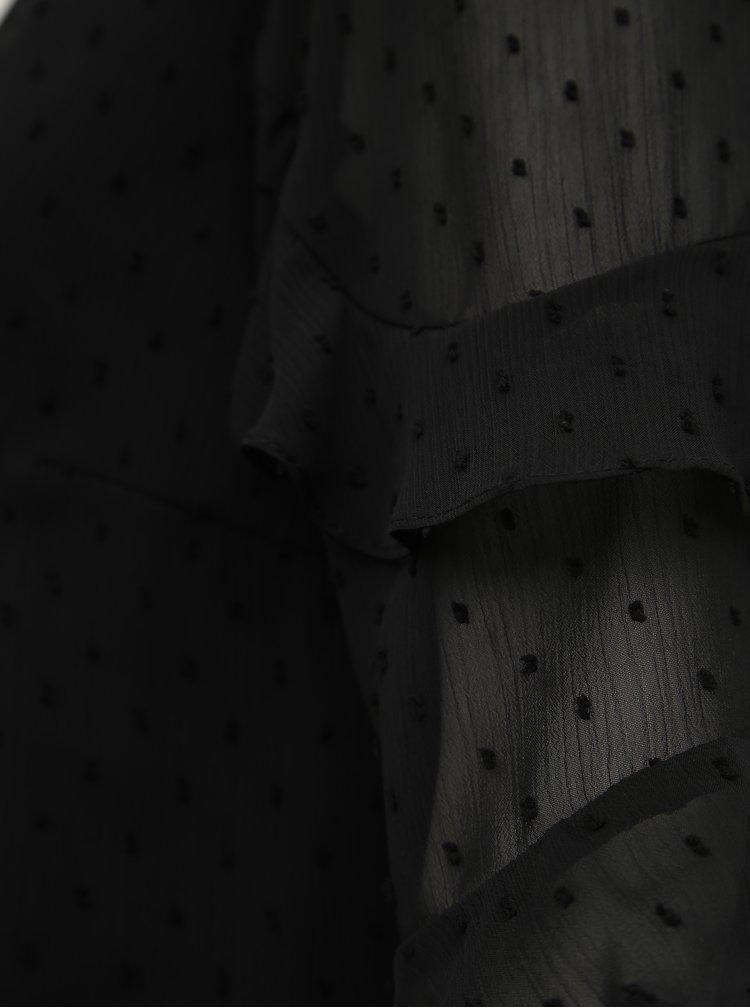 Marimi curvy pentru femei M&Co - negru