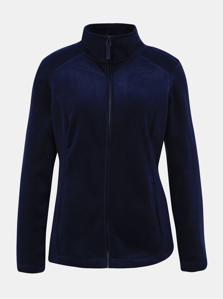 Tmavě modrá fleecová mikina M&Co