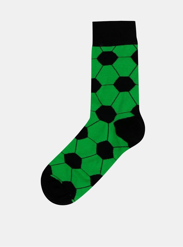 Sada čtyř párů vzorovaných ponožek v modré a zelené barvě Bellinda Crazy
