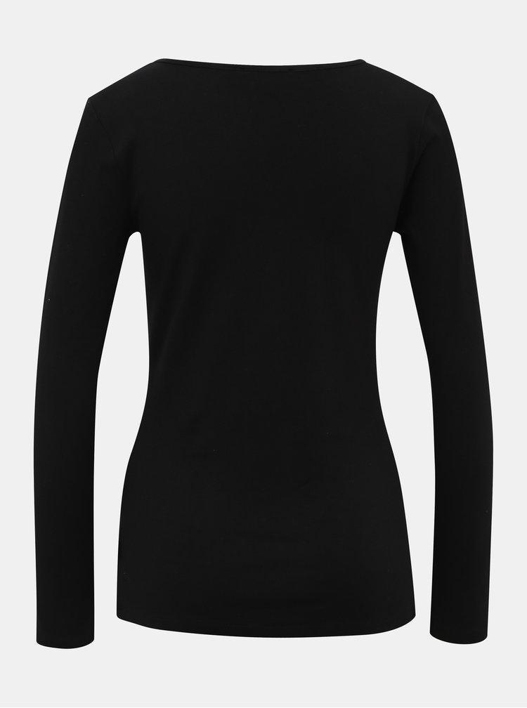 Čierne dámske basic tričko ZOOT Jane