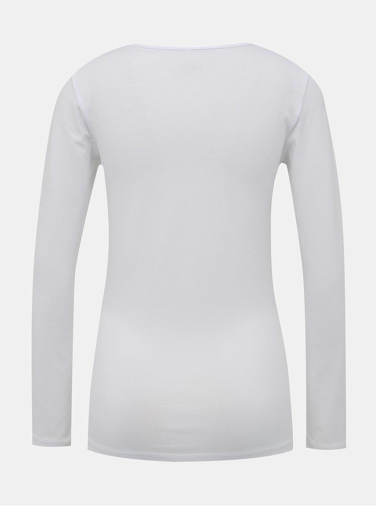 Bílé basic tričko ONLY Live