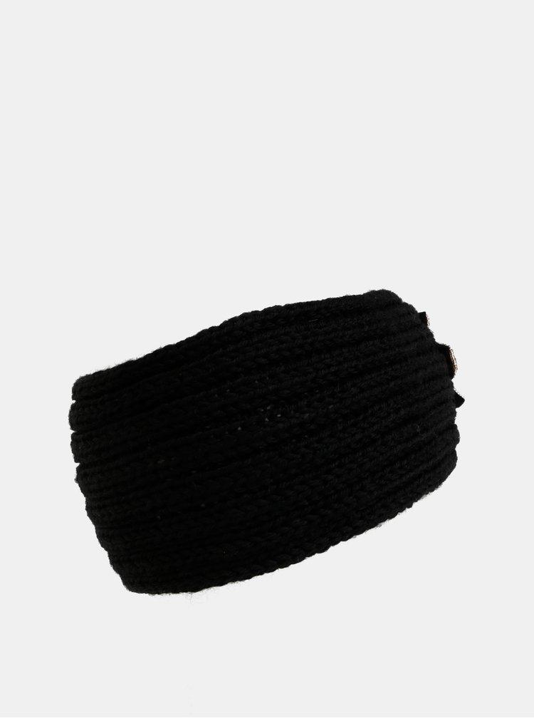 Černá čelenka s ozdobou Haily´s Toni