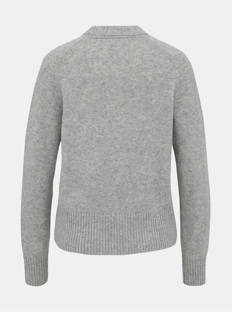 Šedý dámský vlněný svetr Calvin Klein Jeans