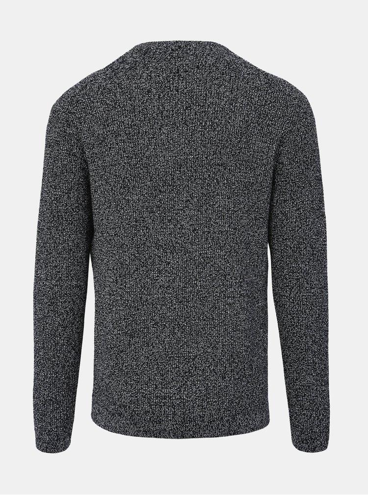 Čierny pánsky sveter Tom Tailor Denim