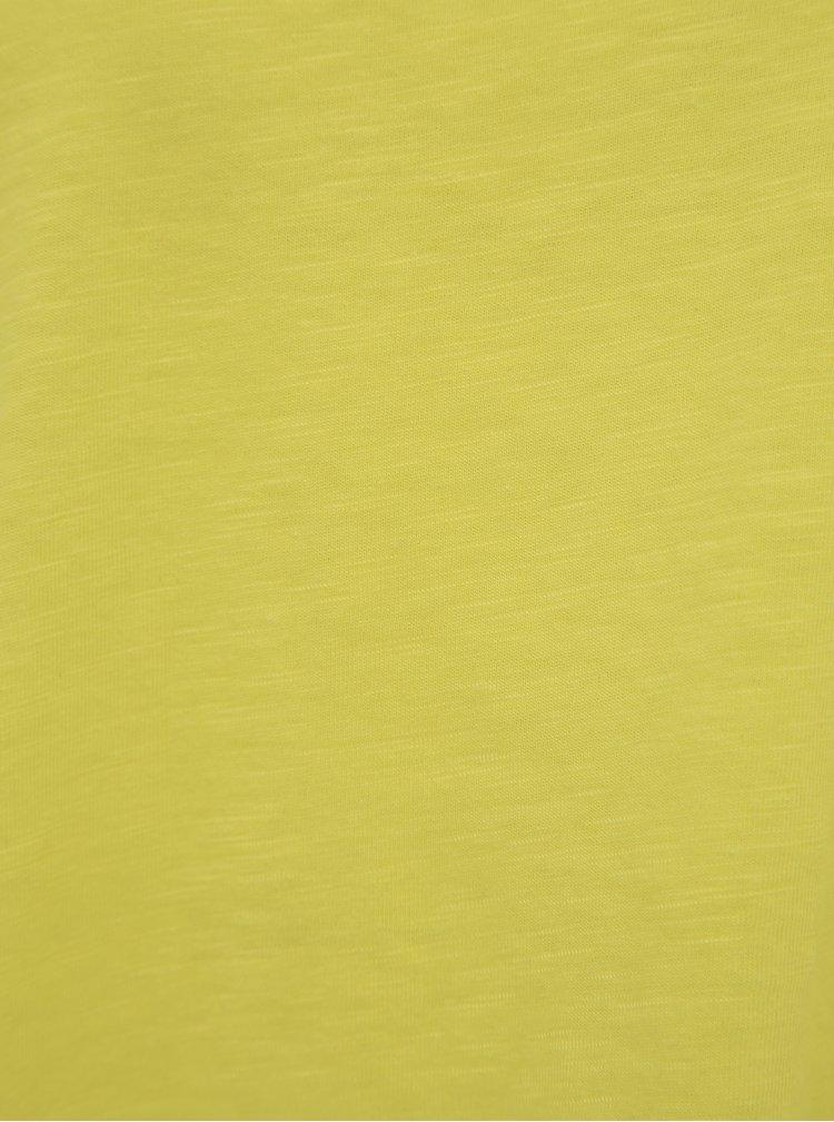 Topuri si tricouri pentru femei Noisy May - galben
