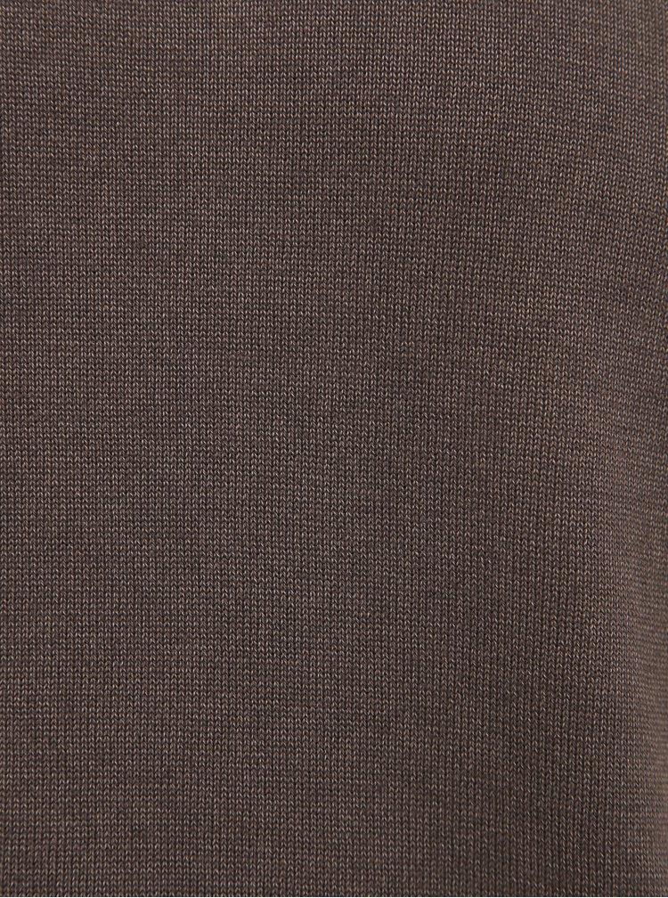 Pulovere si hanorace pentru barbati ONLY & SONS - maro inchis