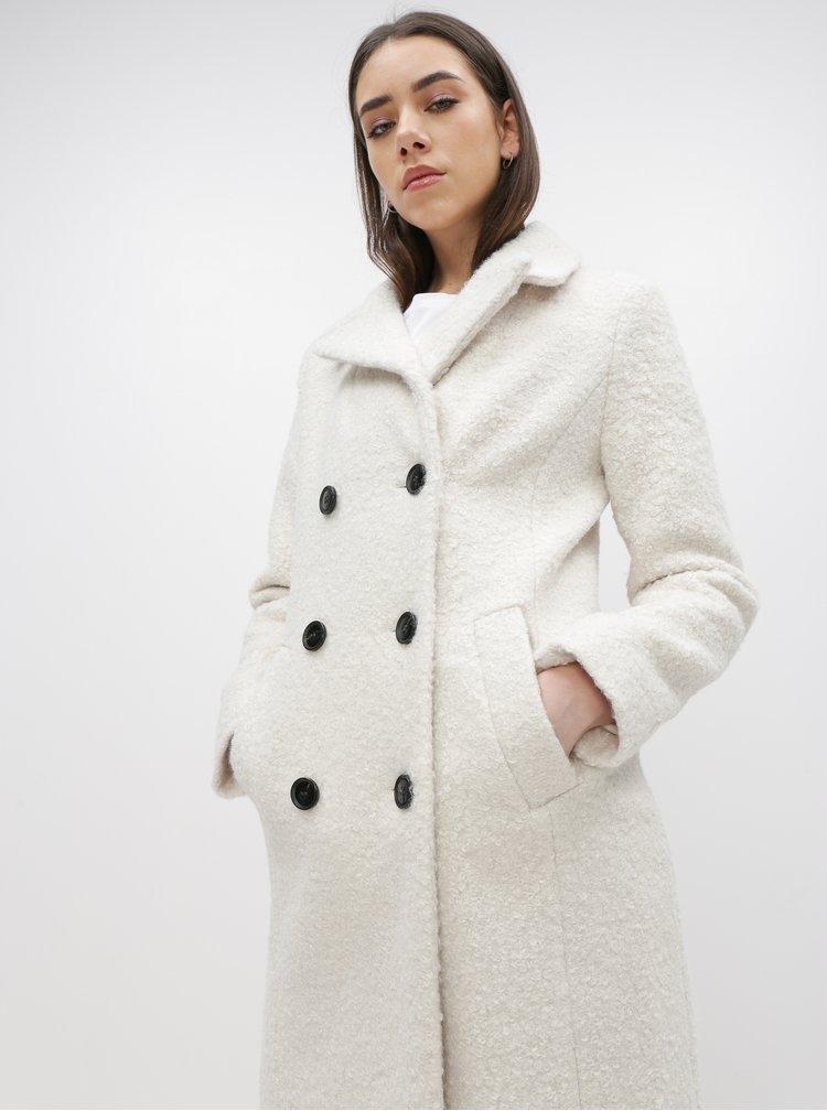 Bílý kabát Dorothy Perkins
