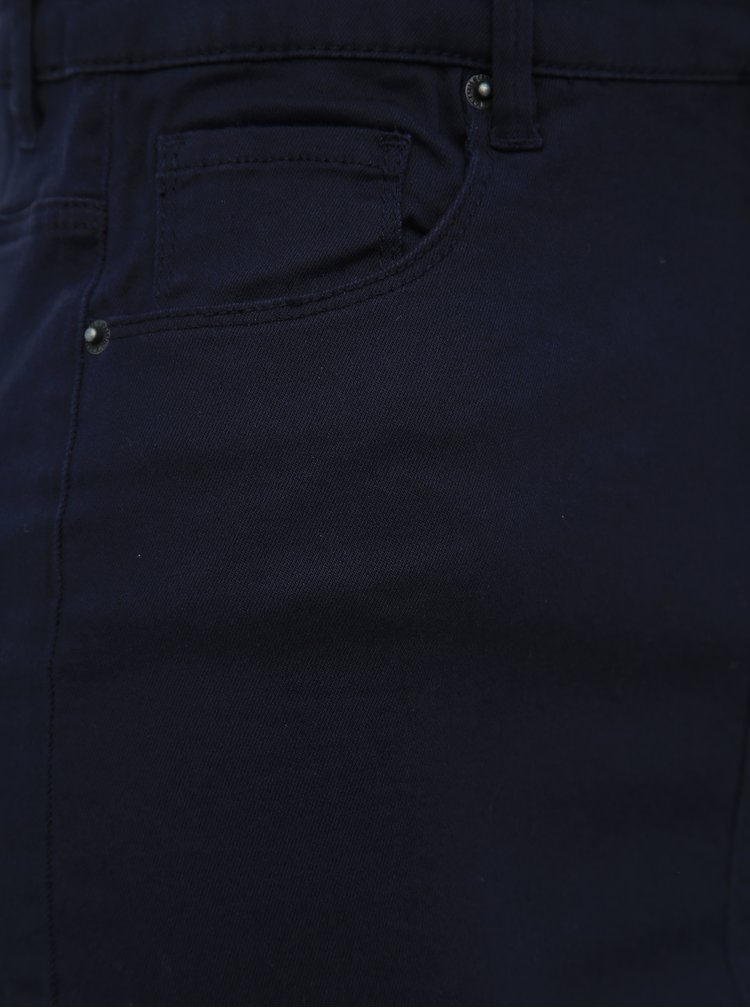 Tmavě modrá pouzdrová sukně VERO MODA Hot Sophia