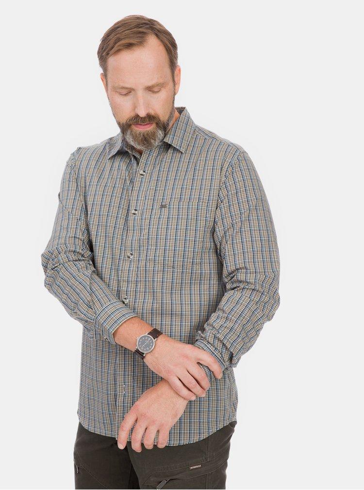 Zelená pánská kostkovaná košile BUSHMAN Stoke