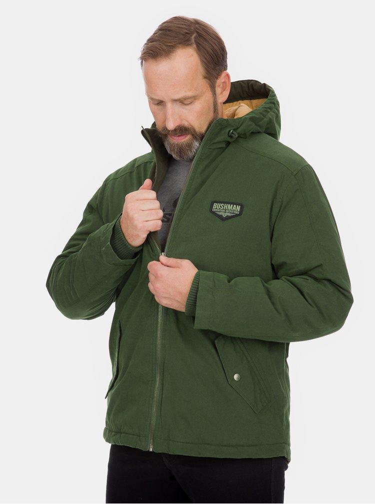 Zelená pánská zimní bunda BUSHMAN Ashcroft