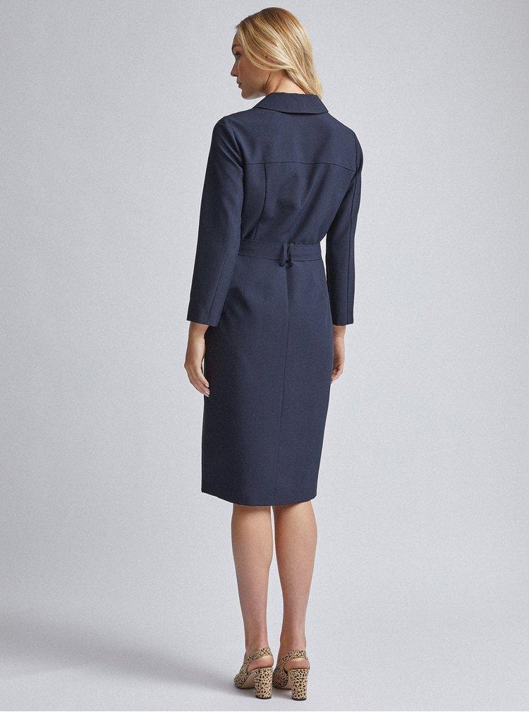 Tmavě modré šaty Dorothy Perkins Tall