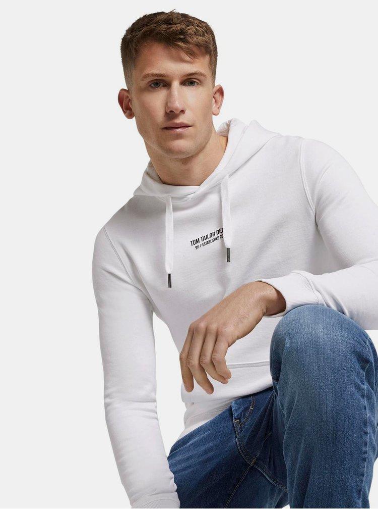 Bílá pánská mikina Tom Tailor Denim