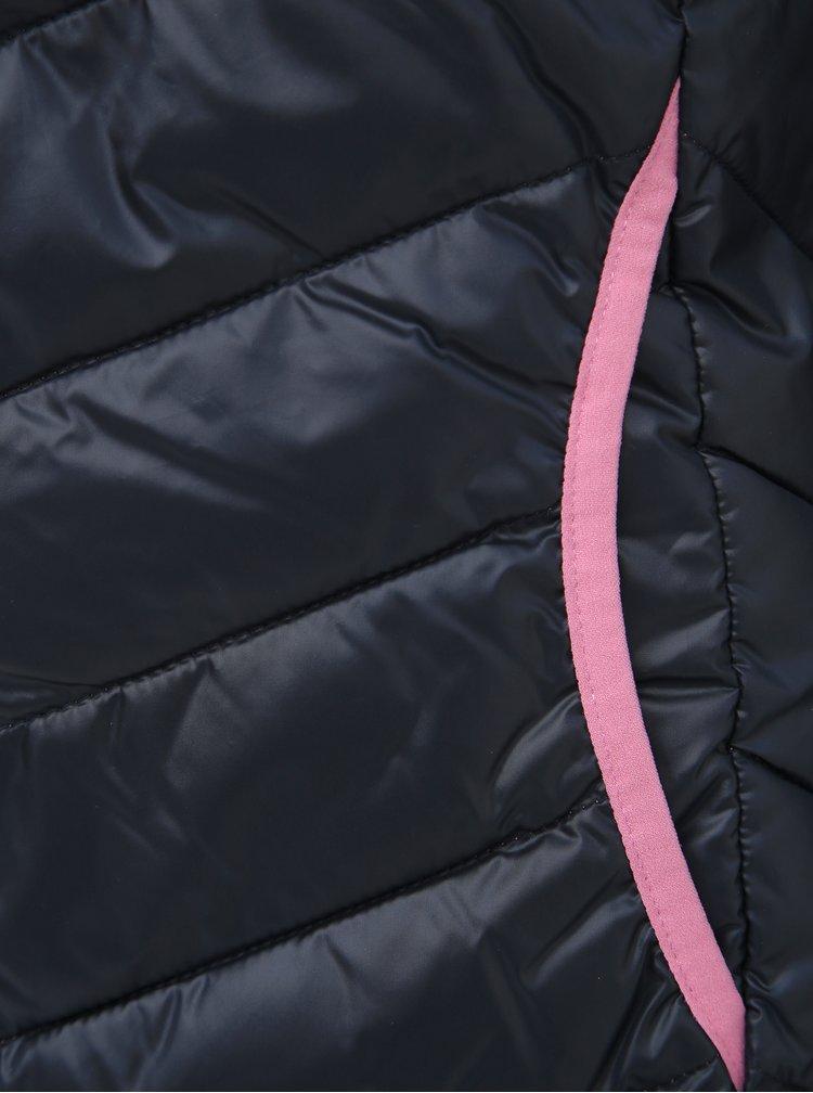 Tmavě modrá dámská prošívaná bunda Tom Tailor Denim