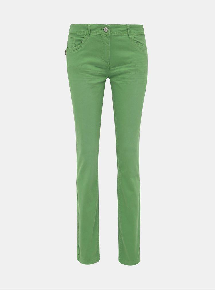 Zelené dámské slim fit džíny Tom Tailor Alexa