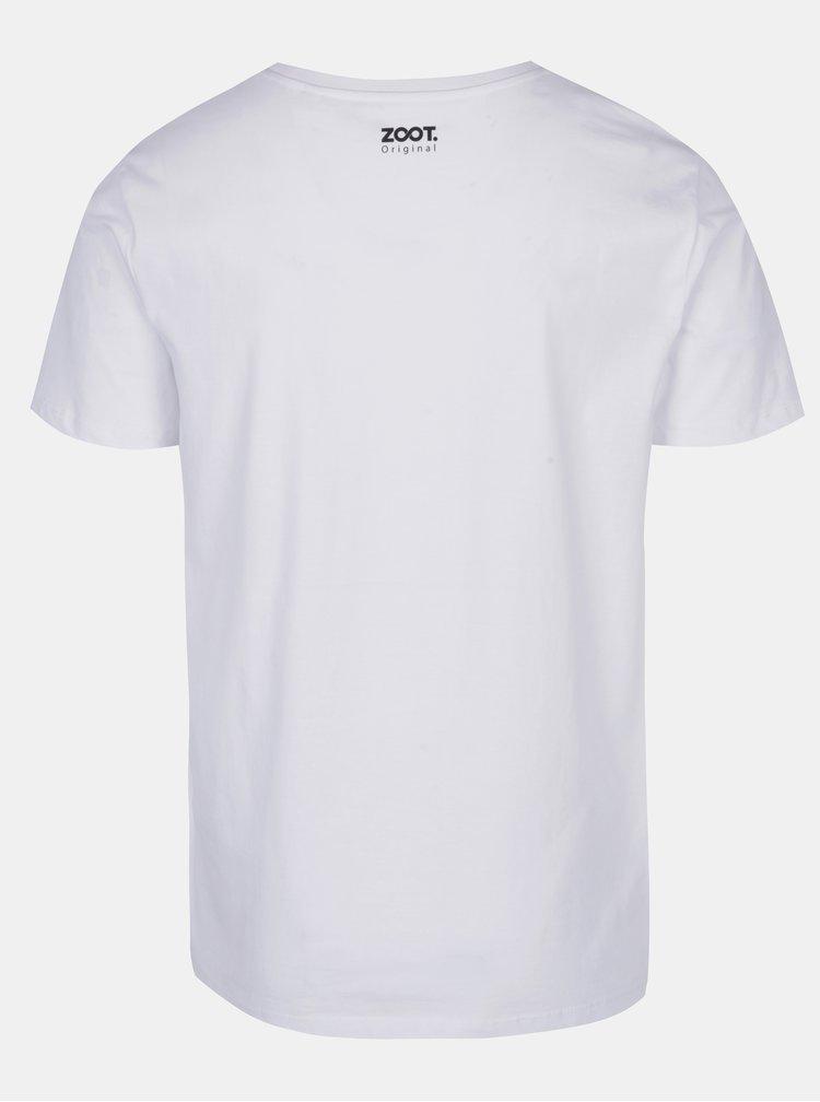 Bílé pánské tričko ZOOT Originál Beer