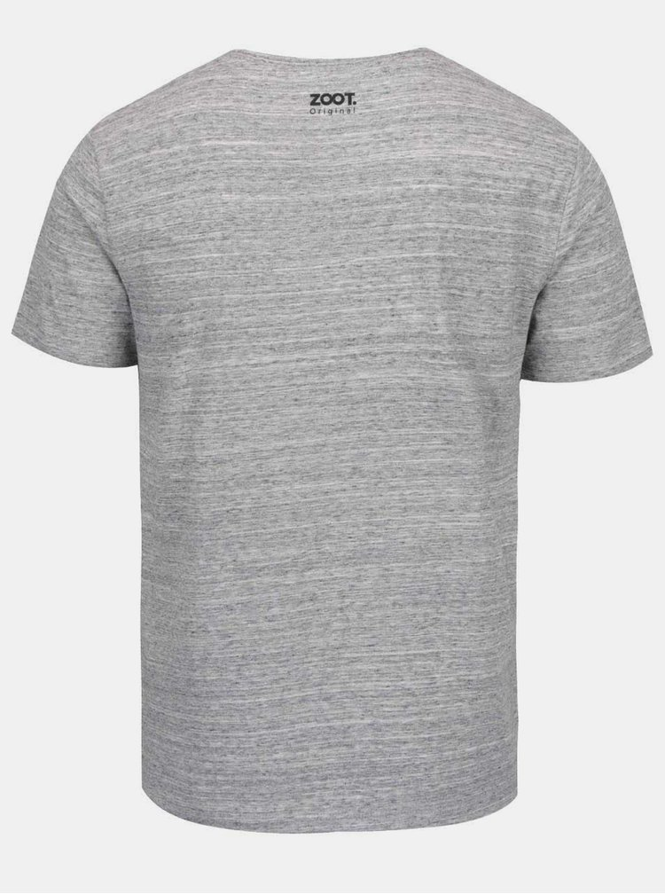 Šedé pánské tričko ZOOT Originál Dělám hezký holky