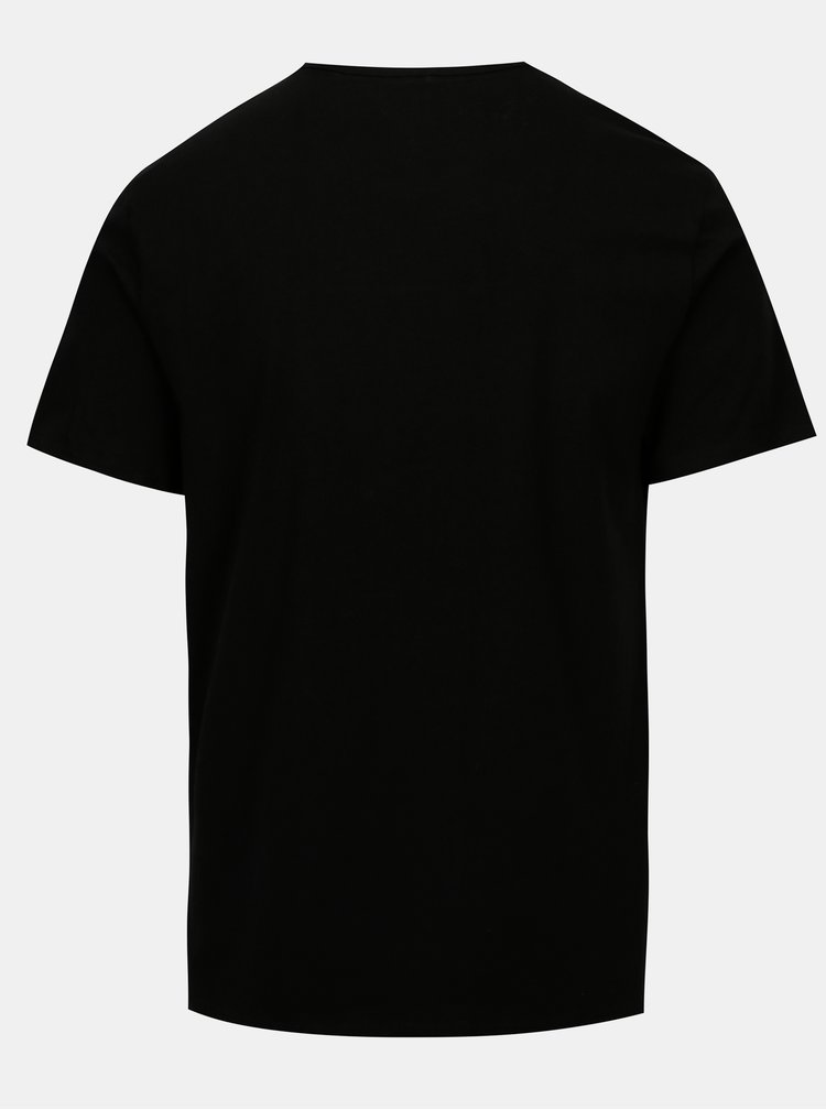 Sada dvou pánských modern fit triček pod košili v černé a bílé barvě Calvin Klein Underwear