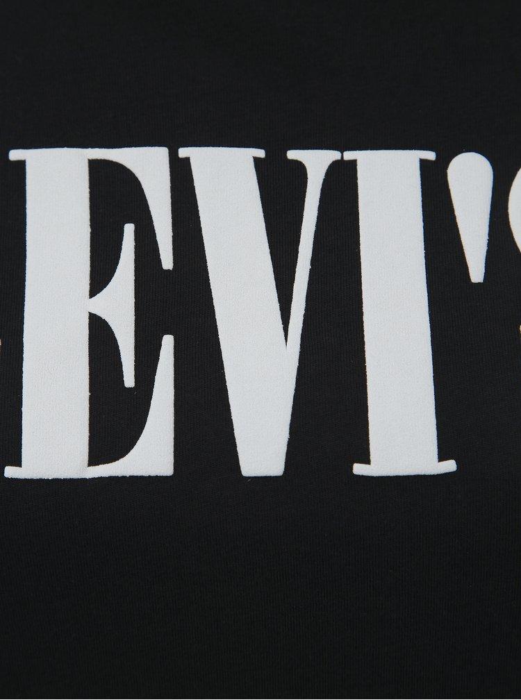 Černé dámské tričko s potiskem Levi's