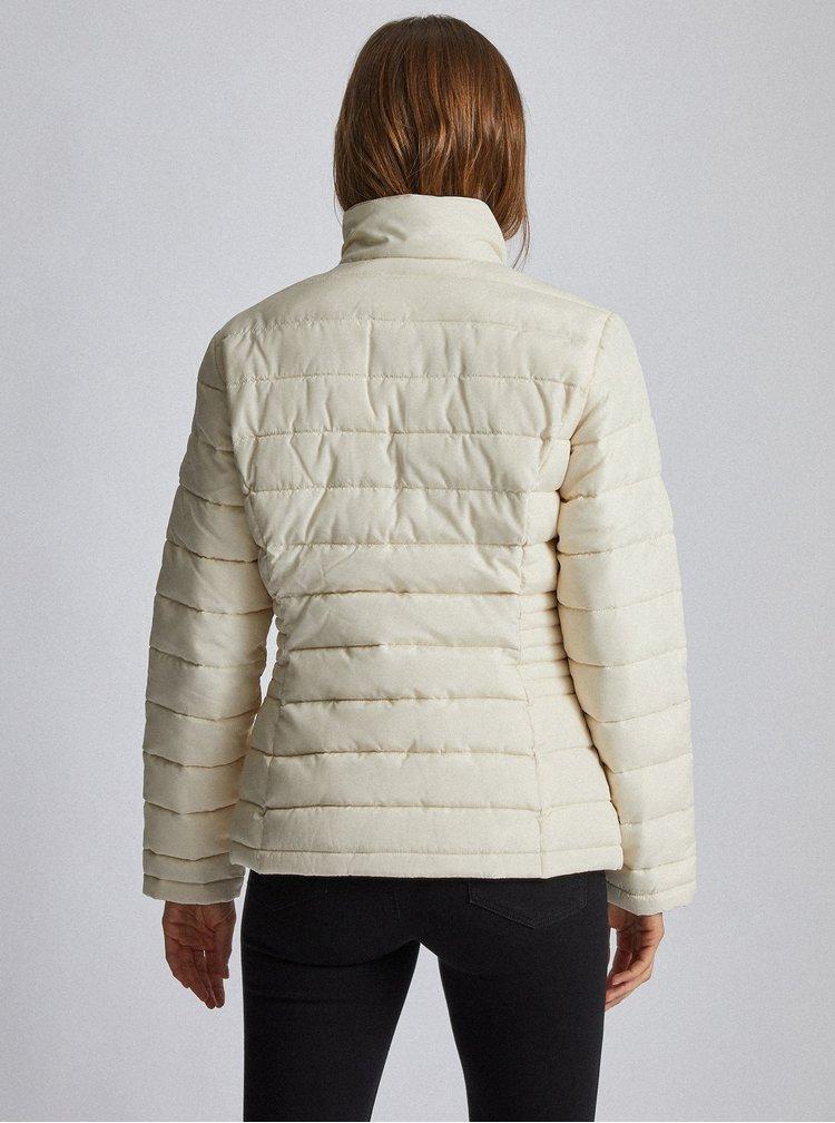 Krémová prošívaná zimní bunda Dorothy Perkins