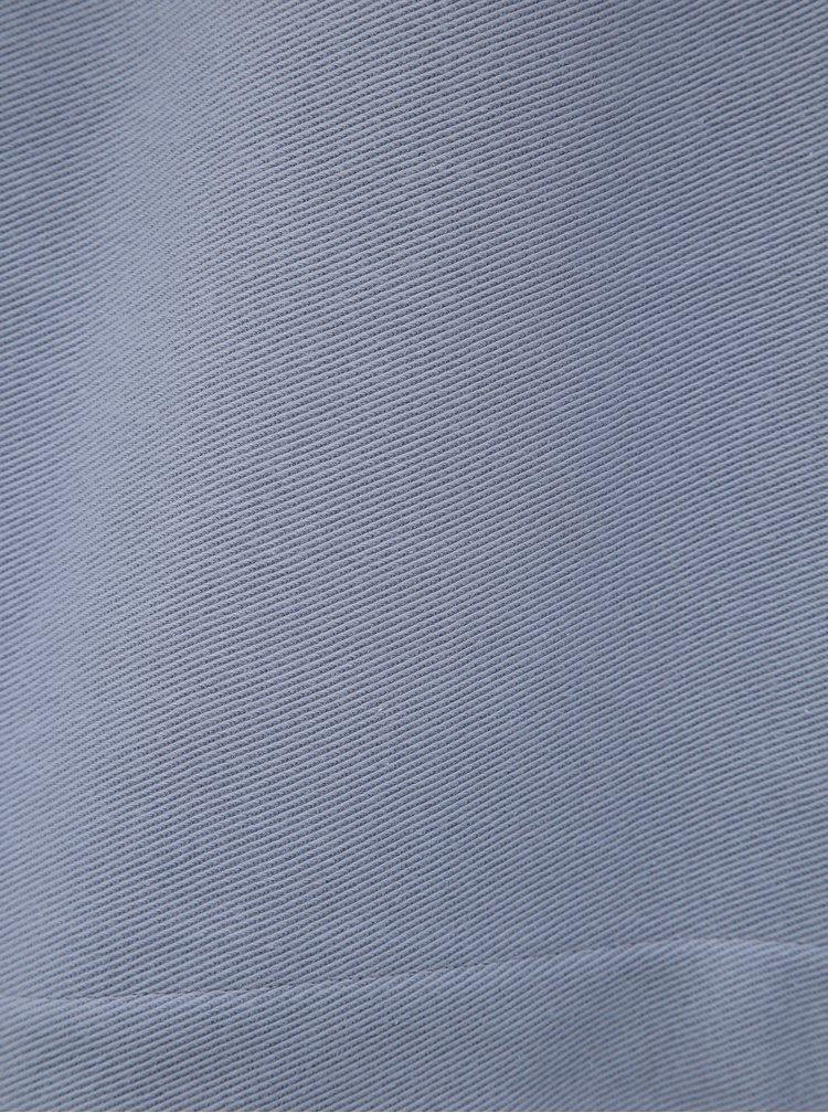 Světle modrá dámská oversize mikina Reebok