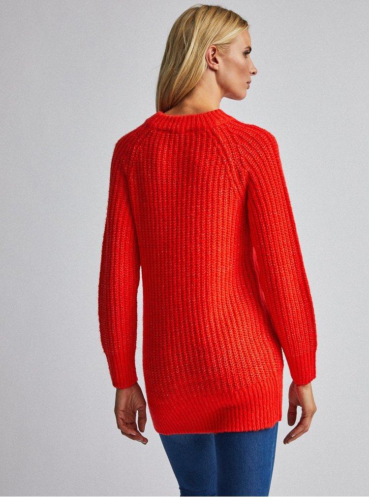 Červený sveter Dorothy Perkins