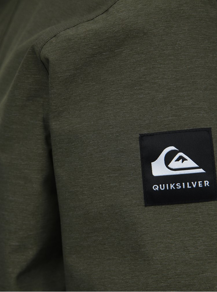 Kaki zimná vodeodolná bunda Quiksilver Mission
