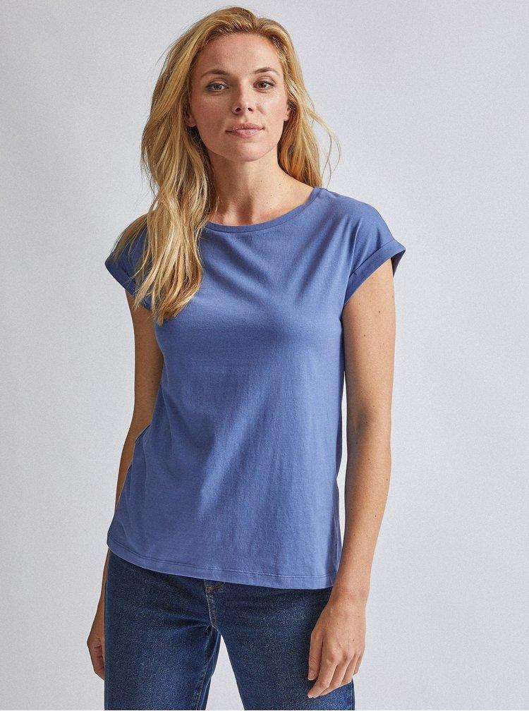 Modré basic tričko Dorothy Perkins