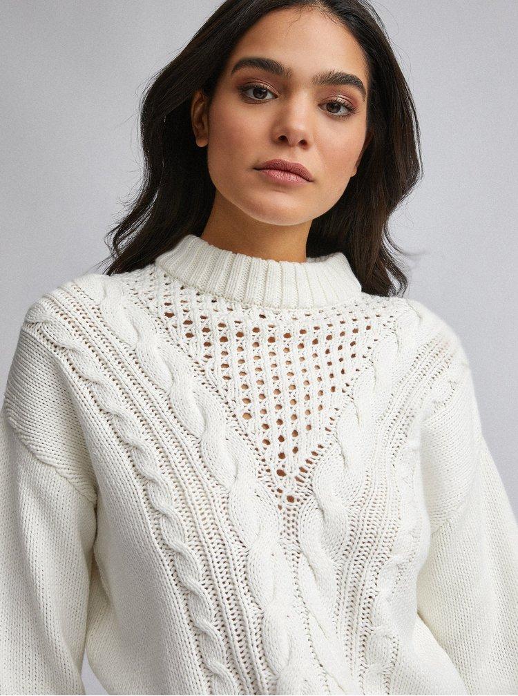 Krémový sveter Dorothy Perkins