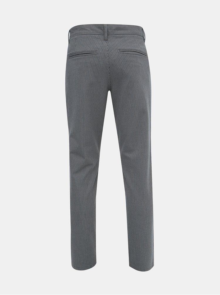 Pantaloni chino pentru barbati Selected Homme - gri