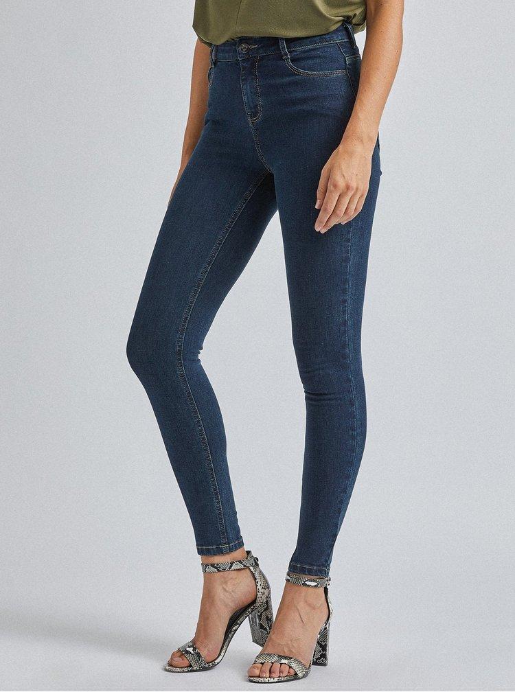 Tmavě modré skinny fit džíny Dorothy Perkins Shape & Lift
