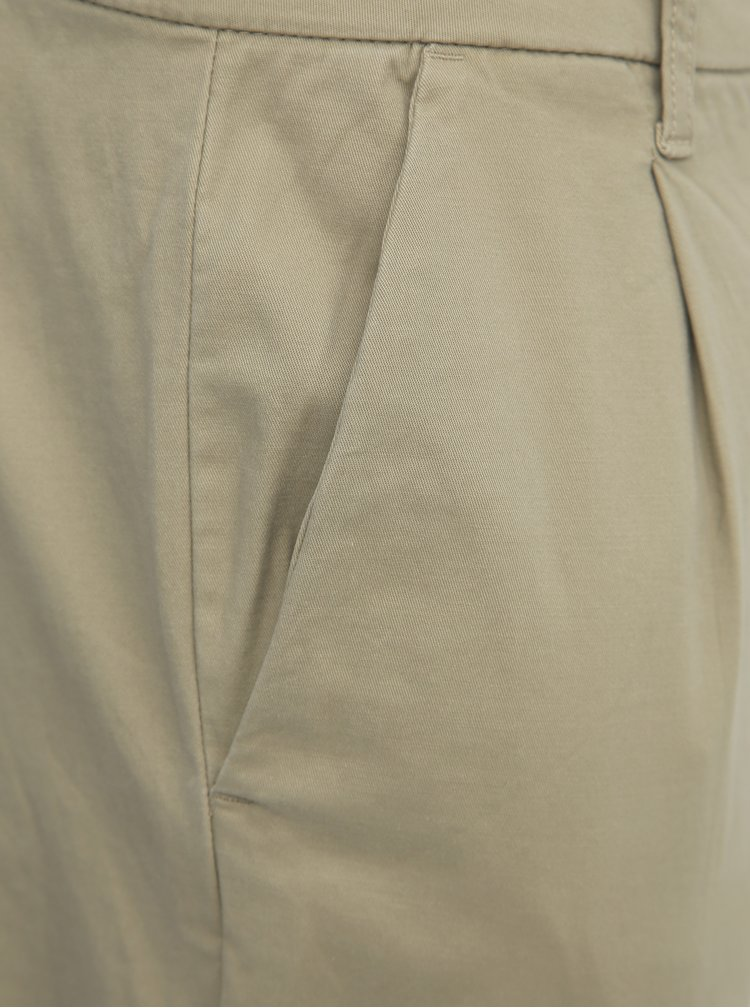 Béžové chino kalhoty ONLY & SONS Cam