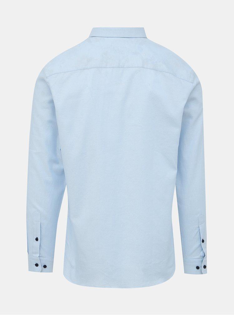Svetlomodrá slim fit košeľa Jack & Jones Bla