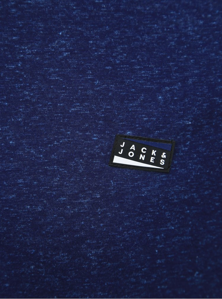 Tmavě modré tričko Jack & Jones Kaiden