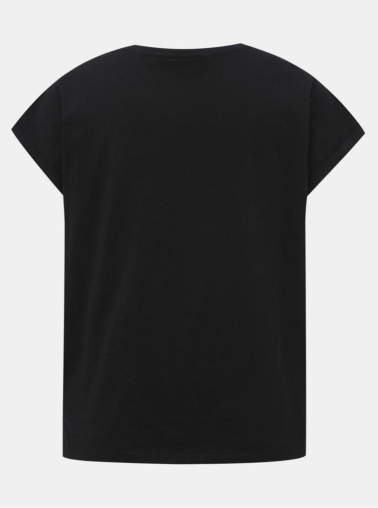 Černé tričko VERO MODA Gillianava