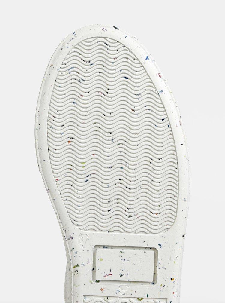 Biele tenisky s hadím vzorom VERO MODA Emmie