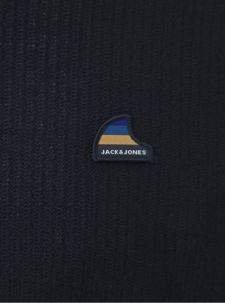 Tmavě modrý svetr Jack & Jones Neil