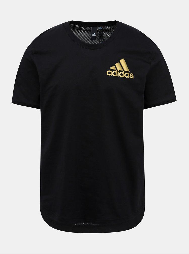 Černé pánské tričko adidas Performance Sid