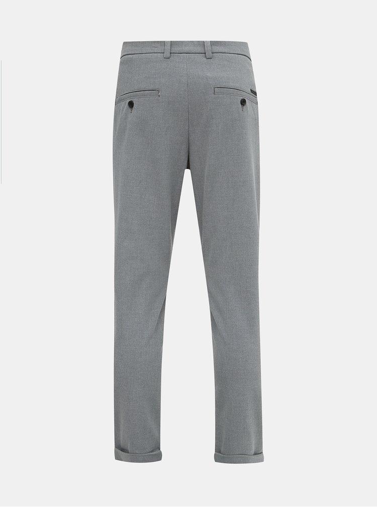 Šedé kalhoty Jack & Jones Marco