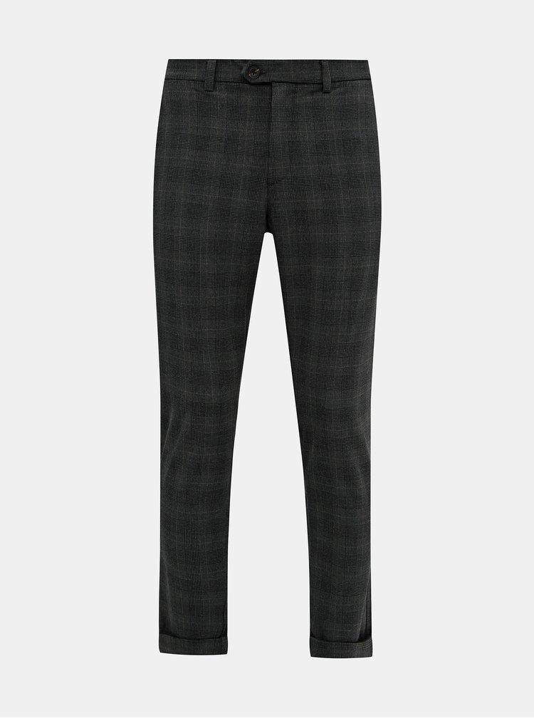 Pantaloni formali pentru barbati Jack & Jones - gri