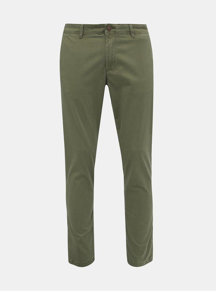 Pantaloni chino pentru barbati Jack & Jones - verde