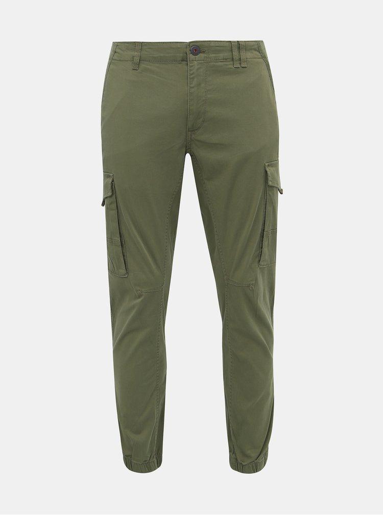 Pantaloni casual pentru barbati Jack & Jones - verde